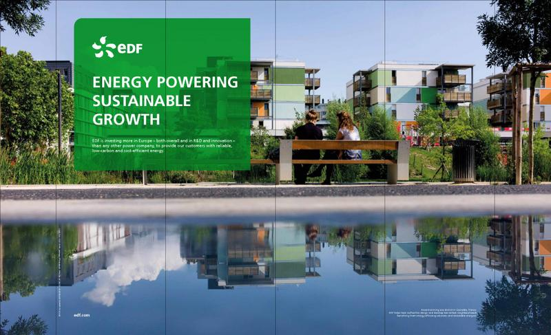 Energy powering sustainable growth EDF is investing more in Europe – both overall and in R&D