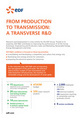 FROM PRODUCTION  TO TRANSMISSION:  A TRANSVERSE R&D
