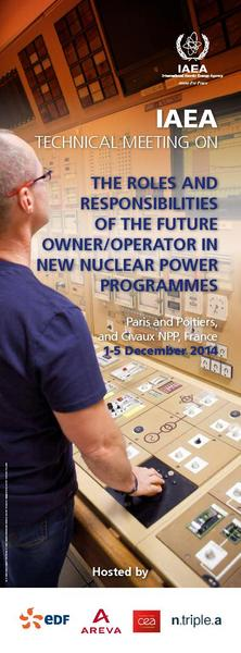 THE ROLES AND RESPONSIBILITIES OF THE FUTURE OWNER/OPERATOR IN NEW NUCLEAR POWER PROGRAMMES