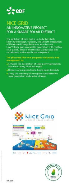 NICE GRID AN INNOVATIVE PROJECT FOR A SMART SOLAR DISTRICT