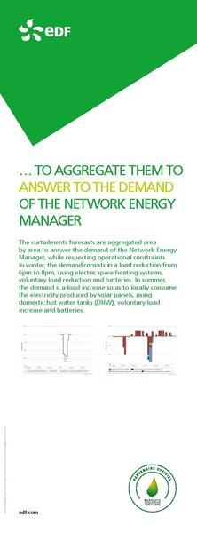 … TO AGGREGATE THEM TO ANSWER TO THE DEMAND OF THE NETWORK ENERGY MANAGER