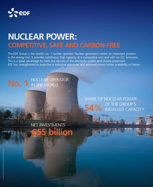 NUCLEAR POWER: COMPETITIVE, SAFE AND CARBON-FREE