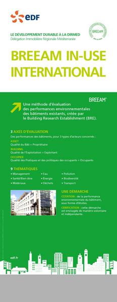 DIRMED BREEAM IN-USE INTERNATIONAL