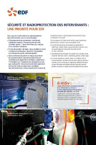 SECURITE ET RADIOPROTECTION DES INTERVENANTS