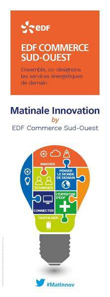 Matinale Innovation by EDF Commerce Sud-Ouest