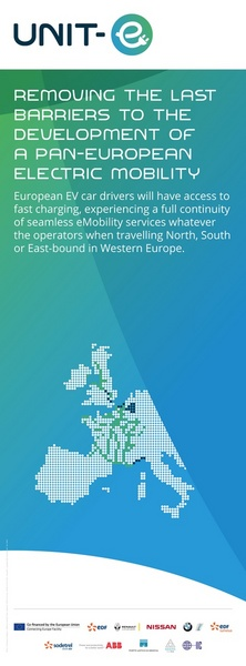 UNIT-E REMOVING THE LAST BARRIERS TO THE DEVELOPMENT OF A PAN-EUROPEAN ELECTRIC MOBILITY