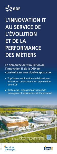 L'INNOVATION IT AU SERVICE DE L'EVOLUTION ET DE LA PERFORMANCE DES METIERS